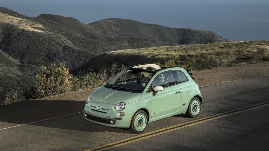 Fiat 500 Cabrio gets 1957 Edition in the USA