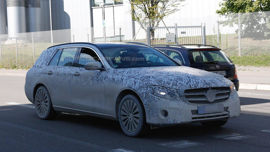 2017 Mercedes E-Class Estate returns in new spy photos
