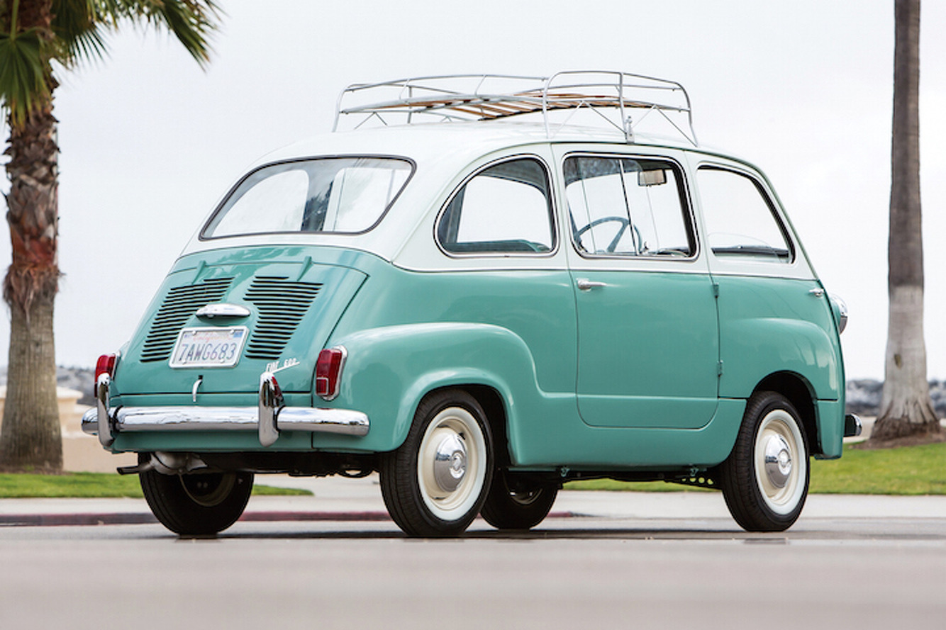 The Fiat 600 Multipla Was the True Definition of an MPV: Weird Car of the Week