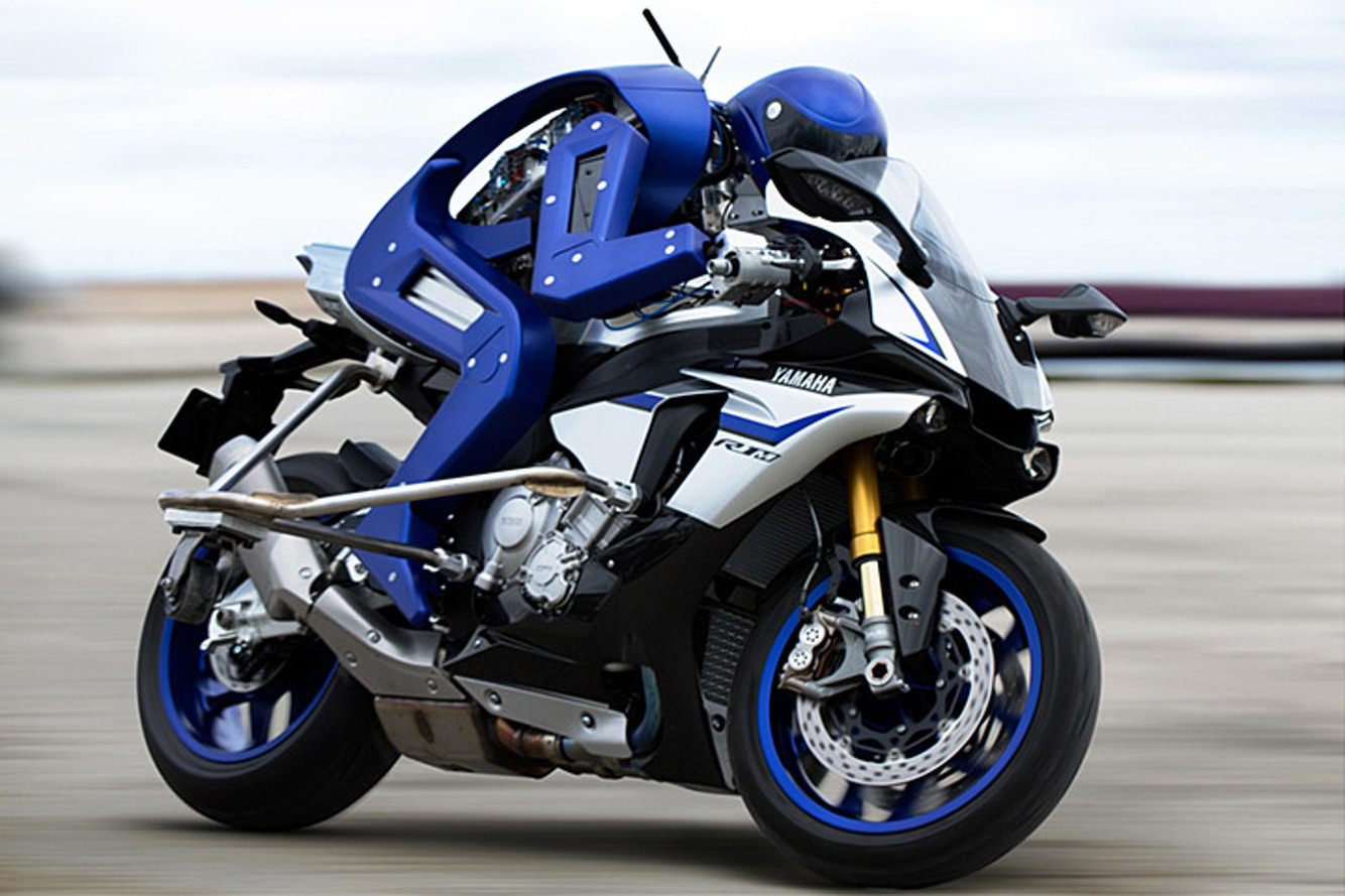 Yamaha Built a Motorcycle-Riding Robot to Rival a Champ
