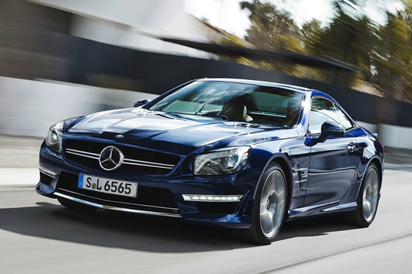 Unveiled: 2013 Mercedes-Benz SL65 AMG