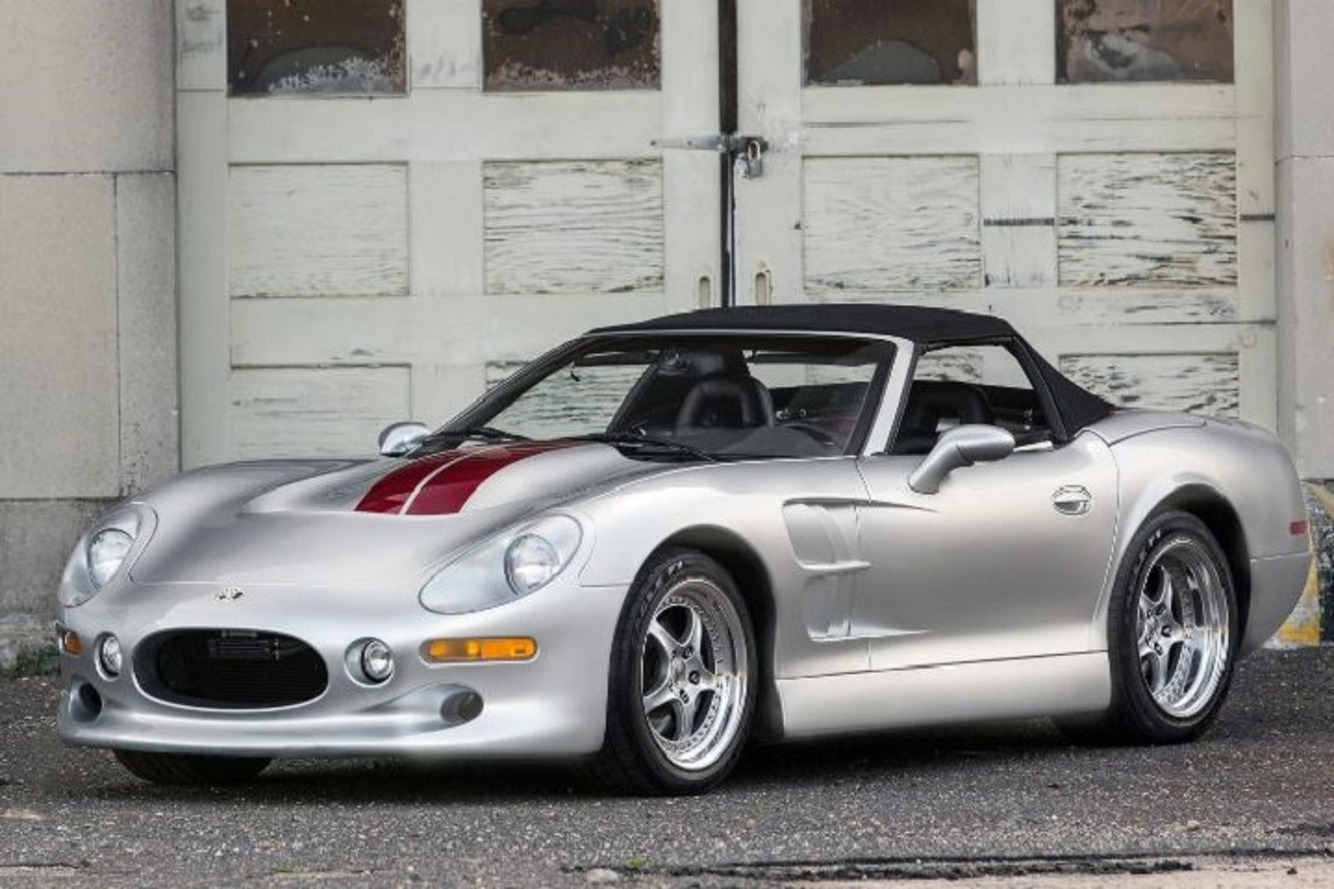 Lightweight and Lovely Shelby Series 1 Roadster Heads to Auction