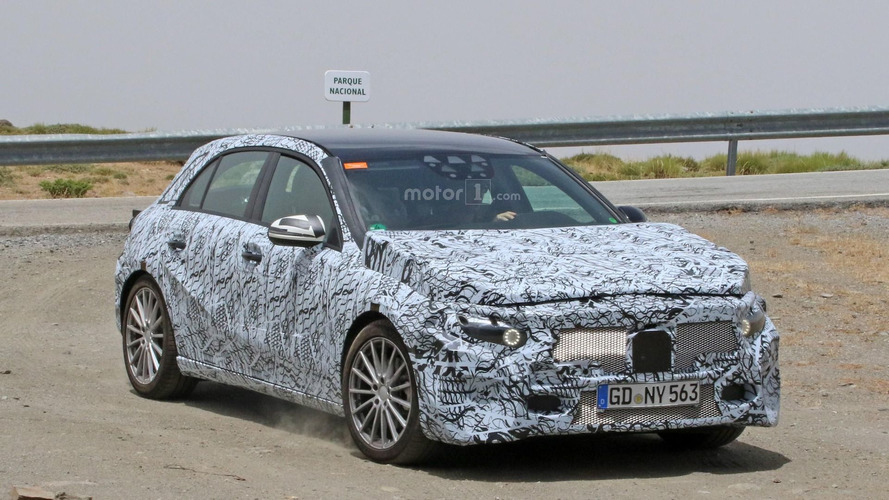 2018 Mercedes A-Class seems wider, longer than current model