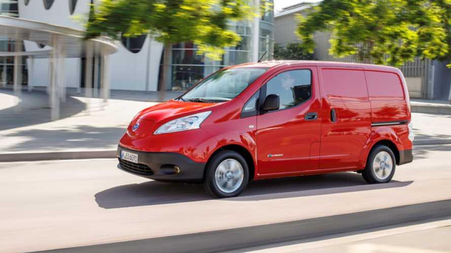 Nissan e-NV200, prime impressioni