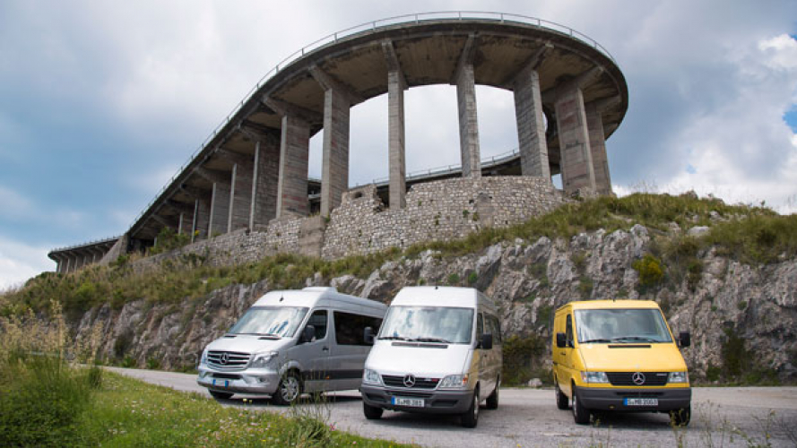 Basilicata Coast to Coast con Mercedes Sprinter