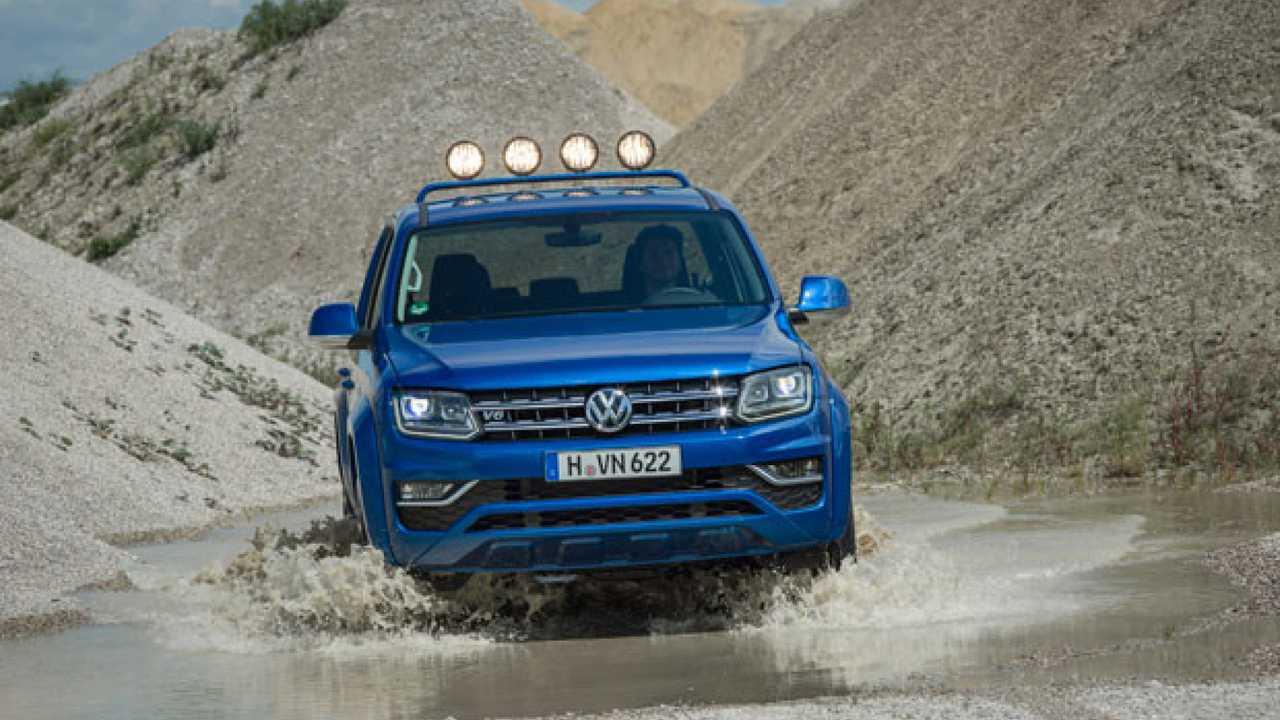Volkswagen Amarok V6 TDI, prime impressioni