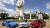 Jaguar E-type sculpture for Goodwood Festival of Speed - 30.6.2011
