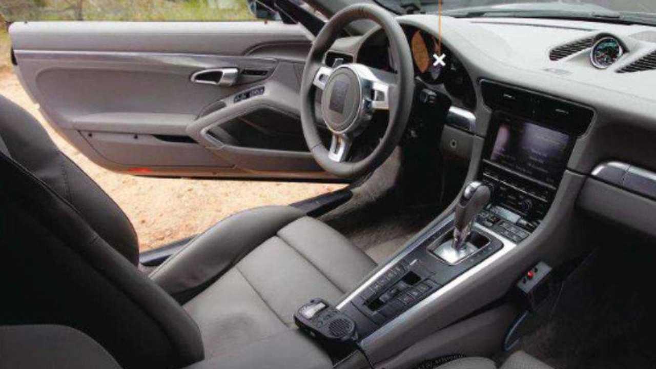 2012 Porsche 911 spied interior photo, 927, 30.06.2011