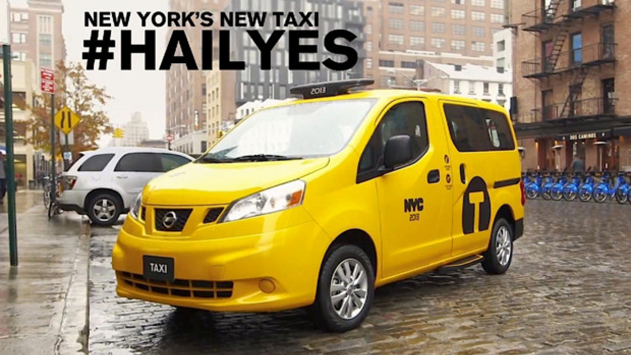 Nissan NV200 conquista New York