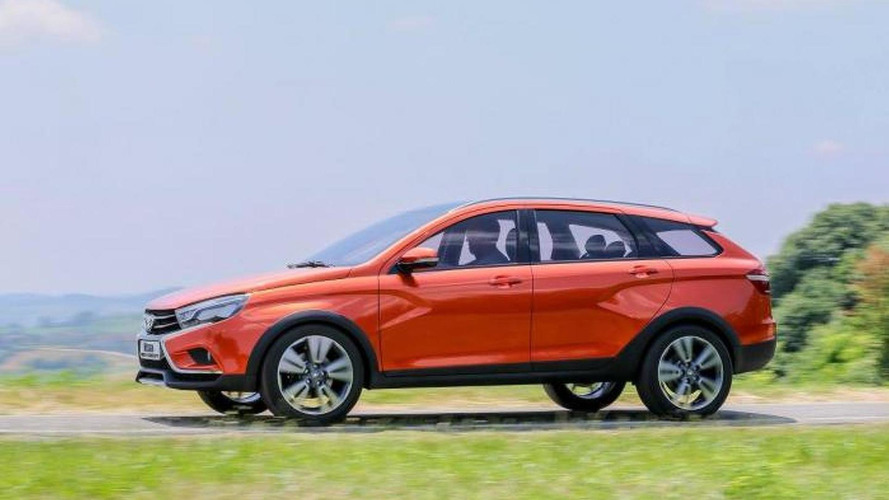 Lada Vesta Cross concept unveiled in Moscow