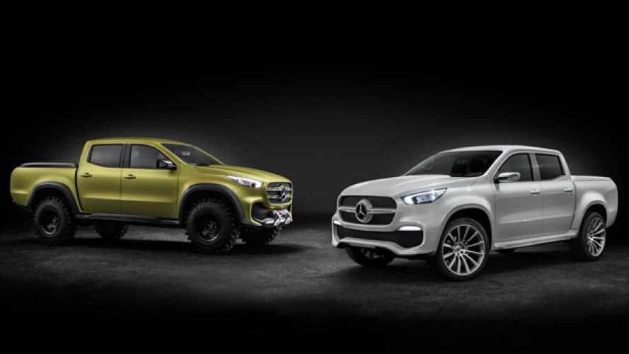 Concept X-Class come sarà il nuovo pick-up Mercedes