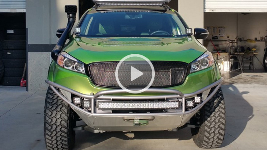 Kia PacWest Adventure Sorento teased for SEMA