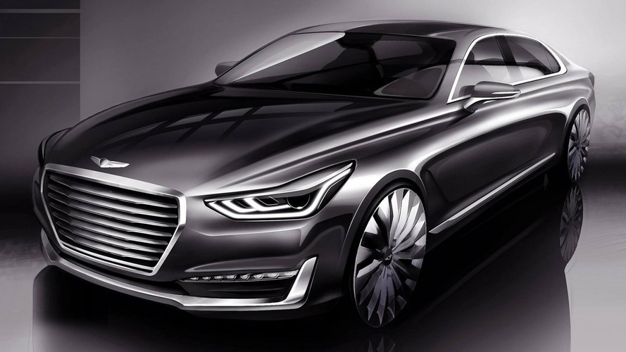 Genesis G90 detailed in South Korea, comes with 3.3 biturbo and semi-autonomous tech