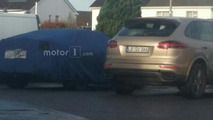 Reader catches the new Porsche Panamera on camera