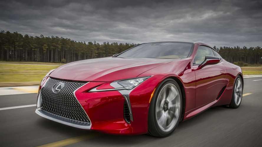 Lexus LC - Une version Cabriolet en préparation ?