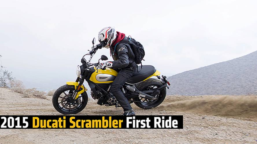 First Ride: 2015 Ducati Scrambler