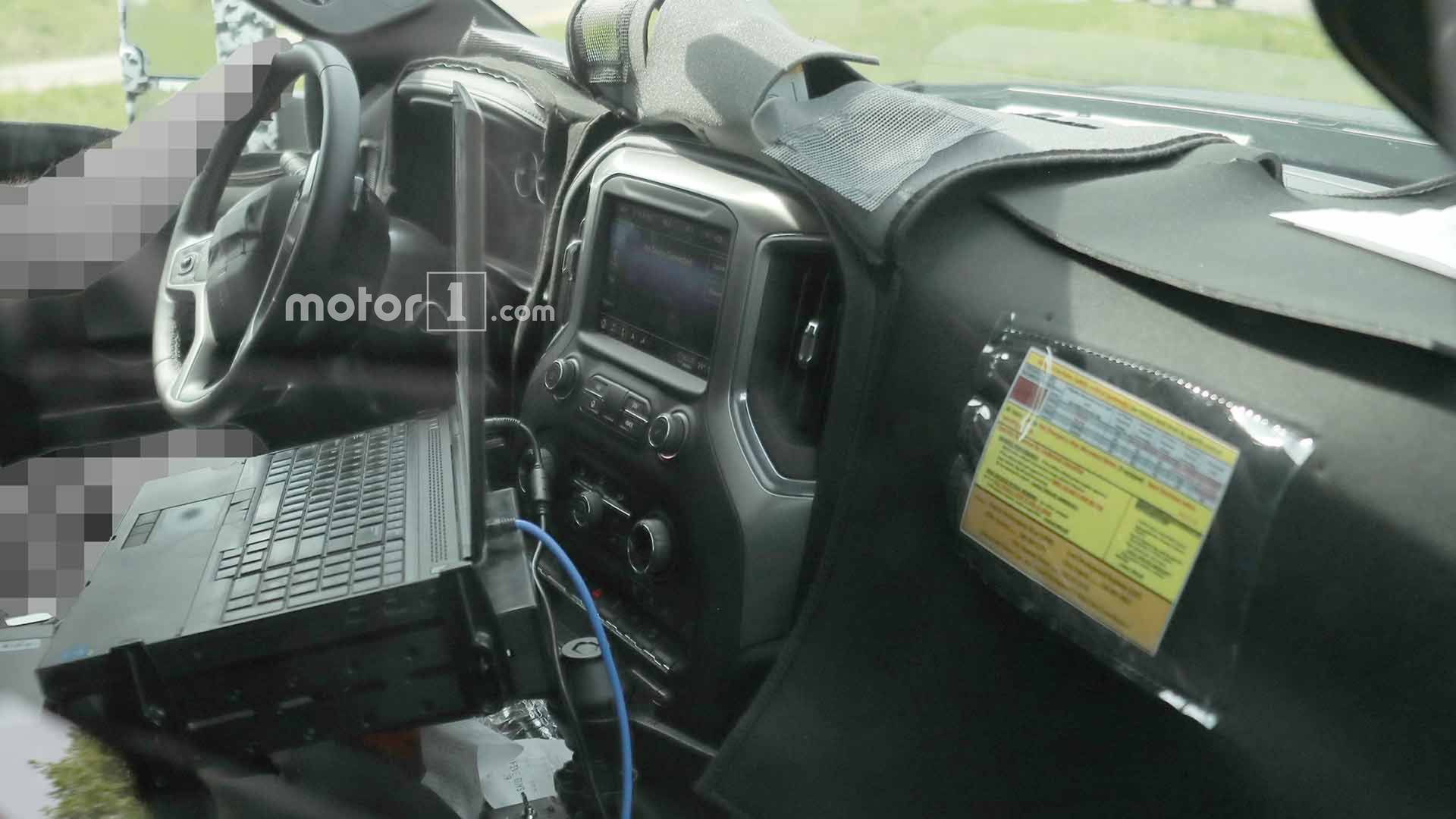 2020 Chevrolet Silverado Hd S Cabin Spied For First Time