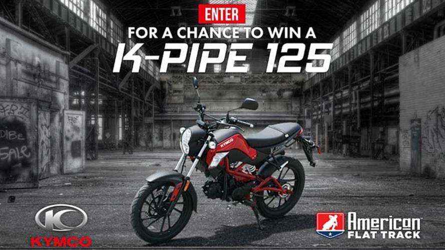 Kymco Grand Prize Winner Announced - Are You Next?