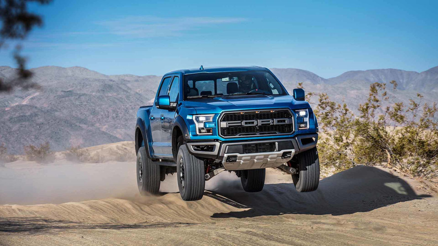 2019 Ford F-150 Raptor Has Adaptive Dampers That Smooth Out Jumps