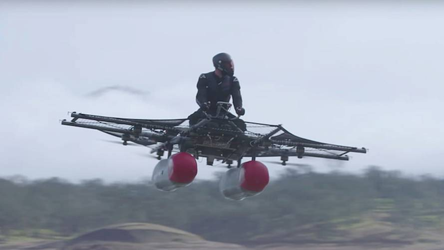 A Great Way to Die - Kitty Hawk Flying Bike Takes Flight
