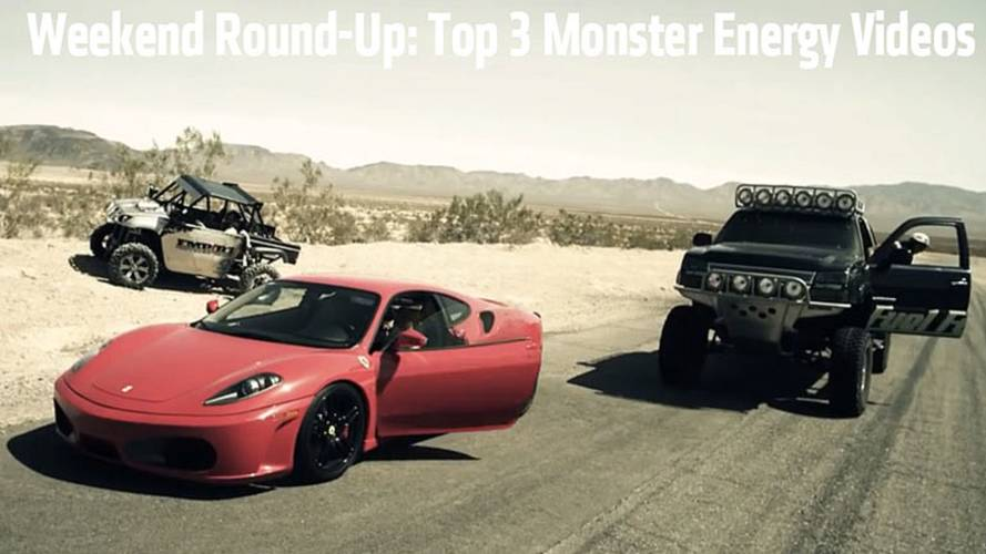 Weekend Round-Up: Top 3 Monster Energy Videos