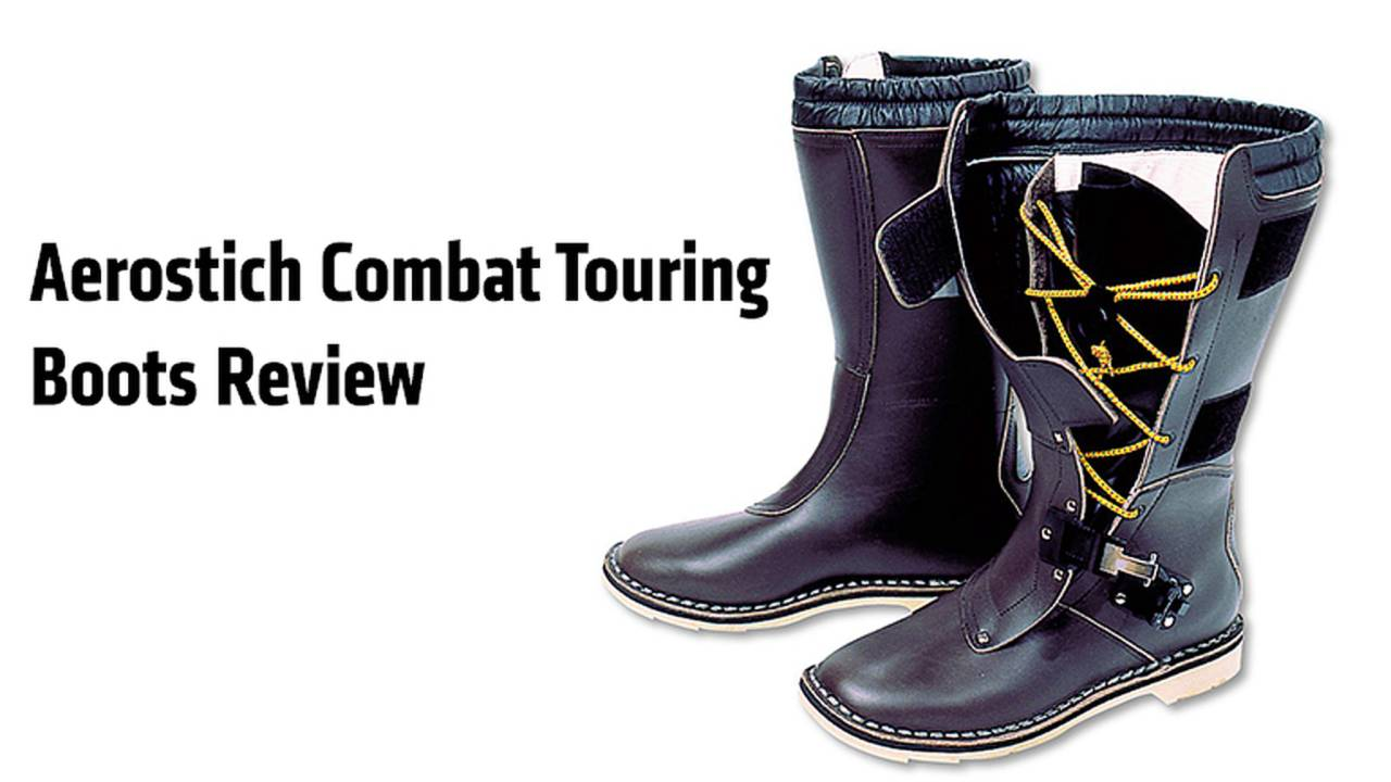 Gear: Aerostich Combat Touring Boots Review