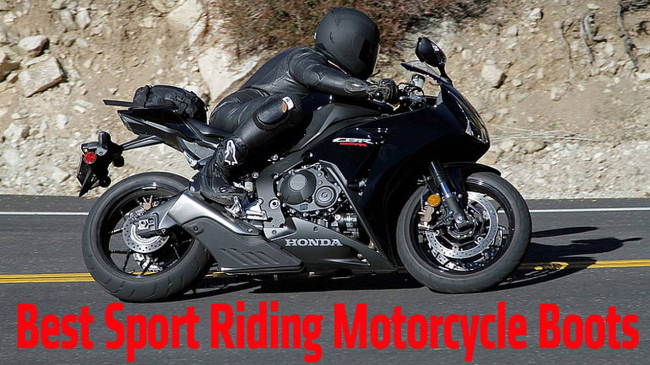 Best Sport Riding Motorcycle Boots