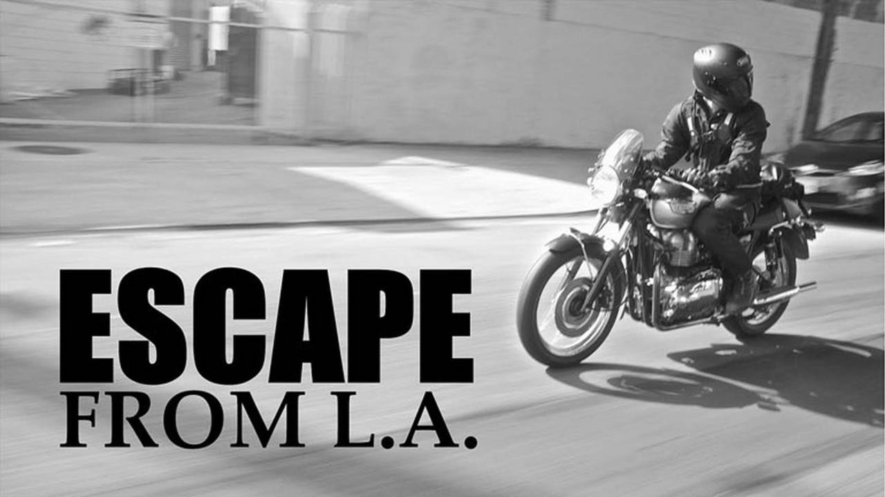 Escape From LA – Aether Moto's Urban Adventure