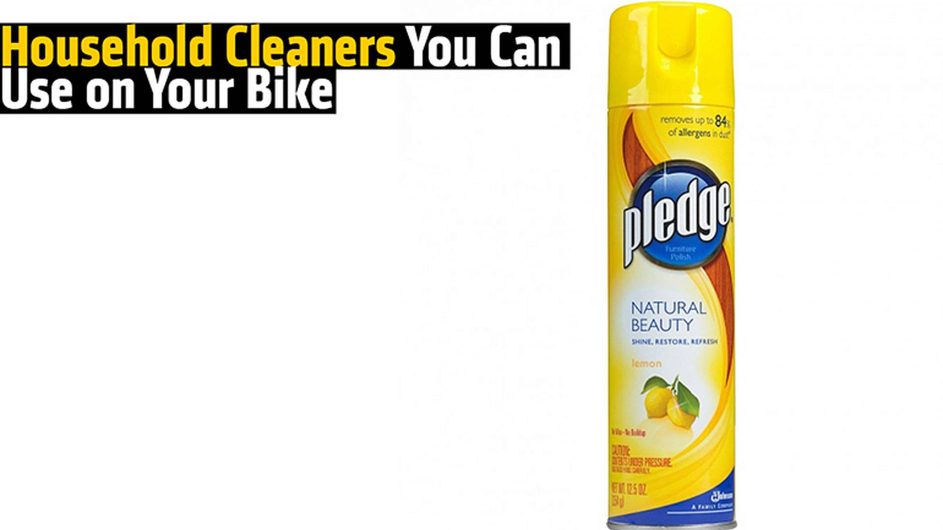 Household Cleaners You Can Use on Your Bike