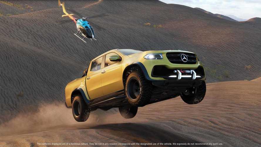 Vá pela terra com o Mercedes-Benz Classe X em The Crew 2