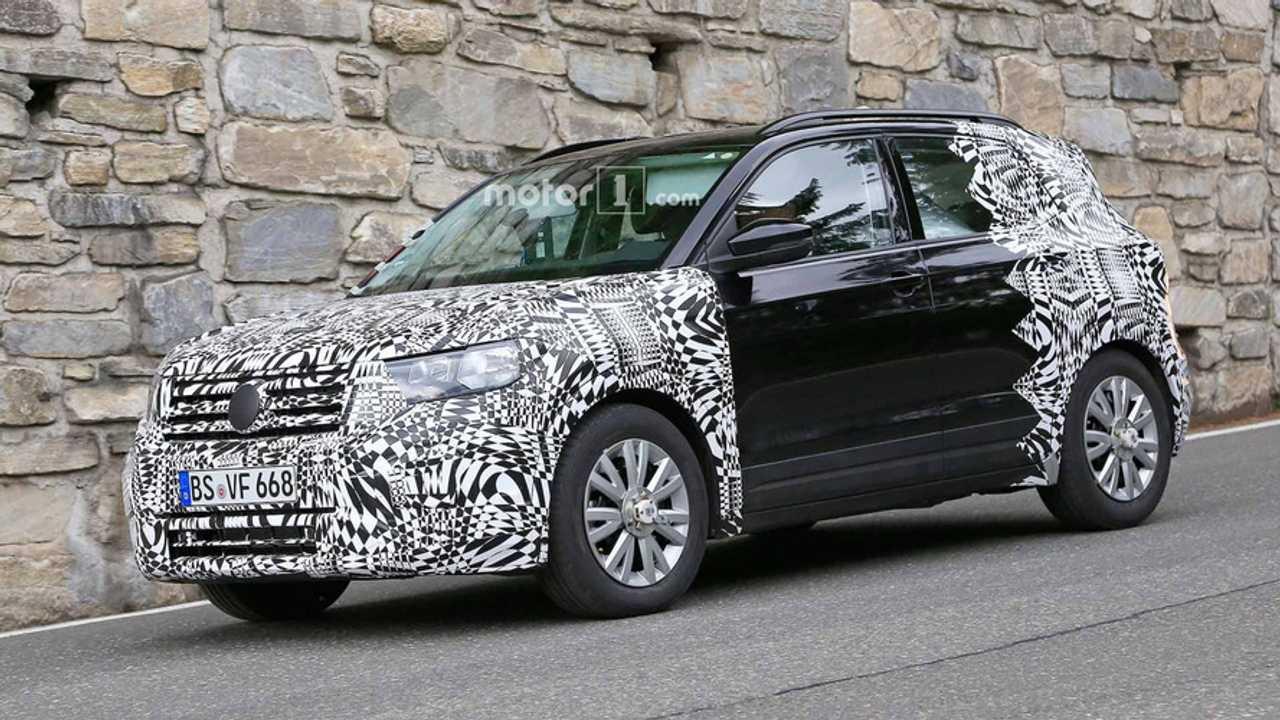Fotos espía Volkswagen T-Cross 2018