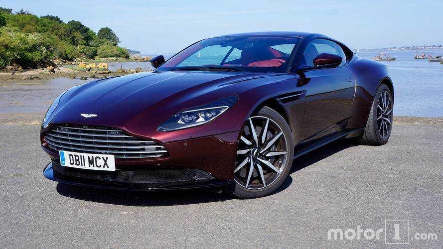 Aston Martin DB11 V8: с подачи AMG