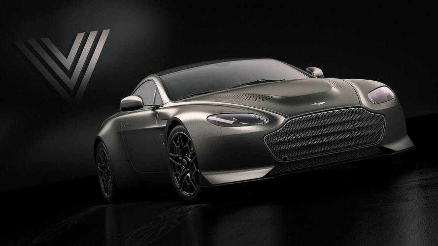 Aston Martin revives the V600 name for brutish Vantage bye-bye