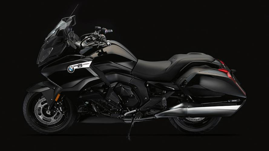 Behold the 2017 BMW K 1600 B Bagger