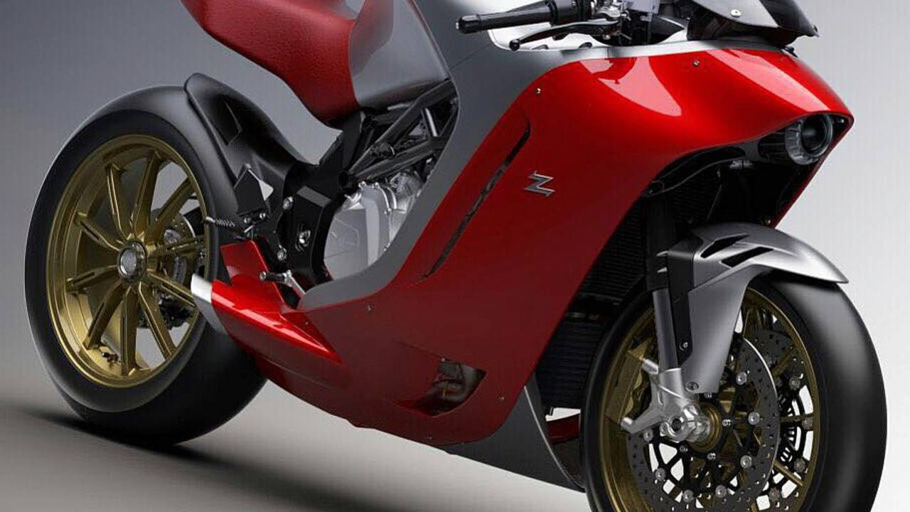 MV Agusta shared this image on its Twitter feed.