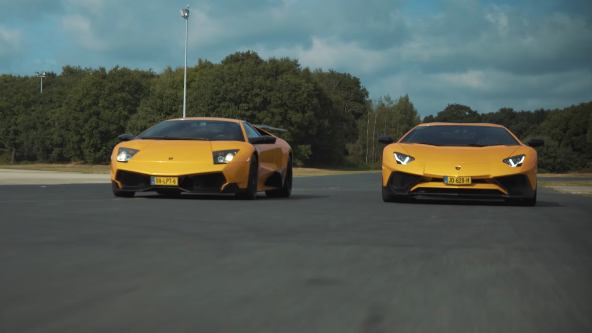 Murcielago Sv Aventador Sv Featured In Owner S Action Packed Film