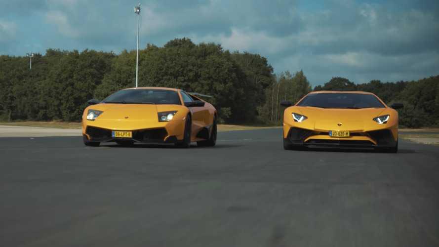 Murcielago SV ile Aventador SV'nin yer aldığı kısa filmi izleyin
