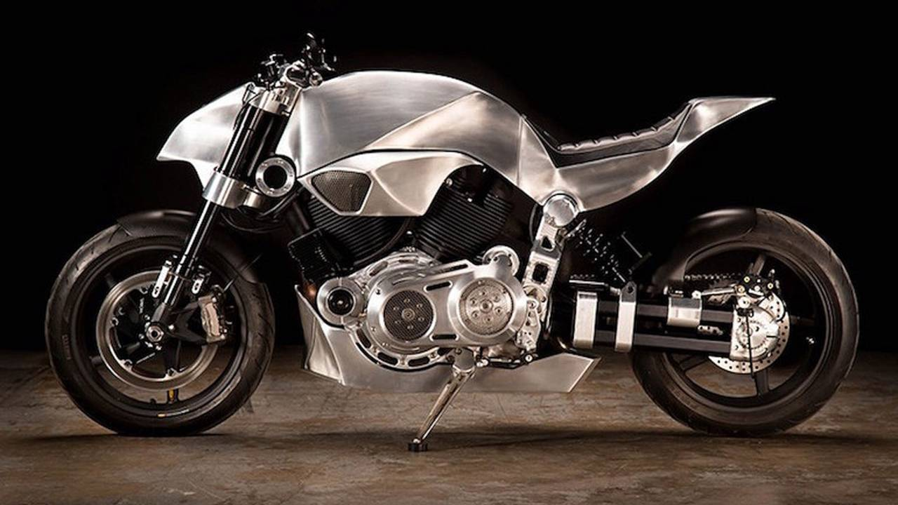 Revival Cycle's 2012 Confederate X132 Hellcat-based street-fighter build