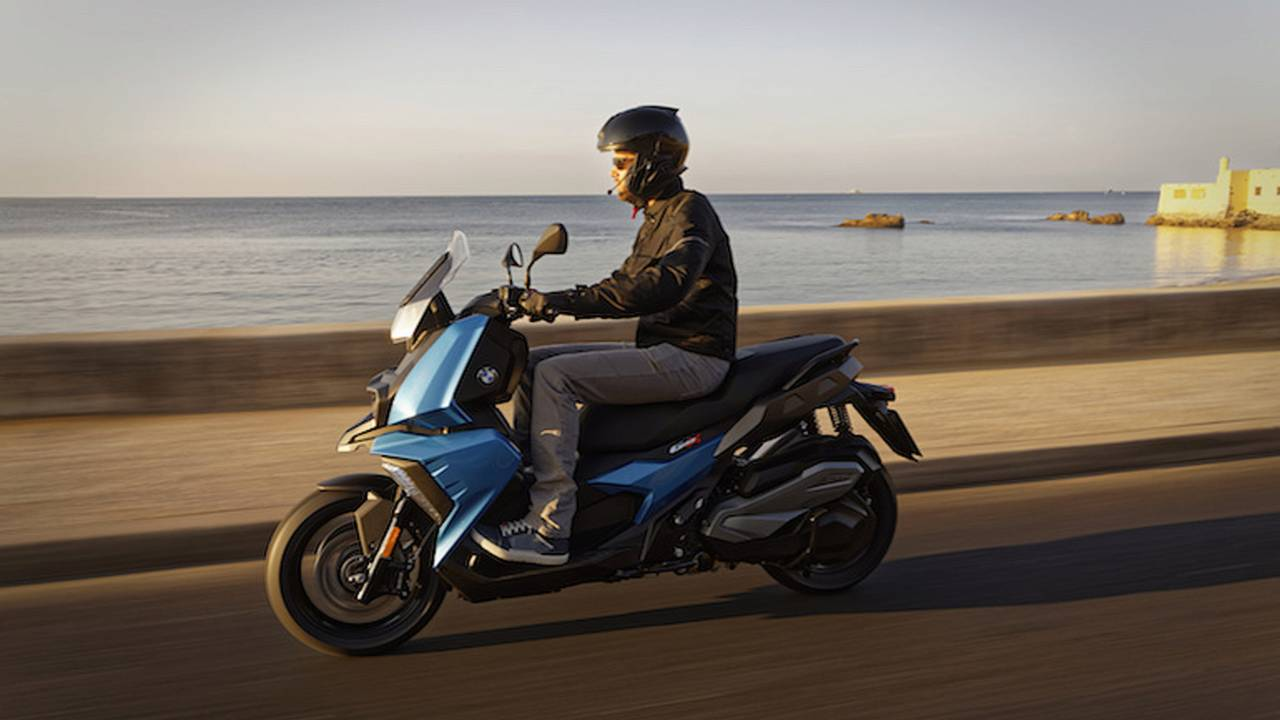 BMW Launches New C 400 X Scooter