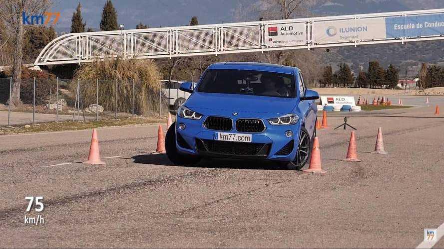 Gondokkal tarkított jávorszarvas teszten járt a BMW X2