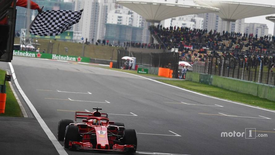 2018 F1 Chinese GP: Vettel Leads Ferrari 1-2 As Mercedes Struggles