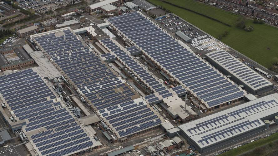 Bentley Adds U.K.'s Largest Solar Farm To Its Crewe Factory