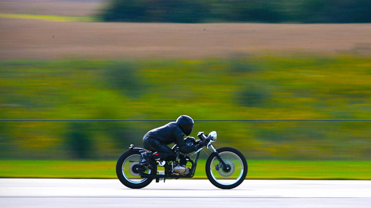 How to set a land speed record on a $3,200 motorcycle