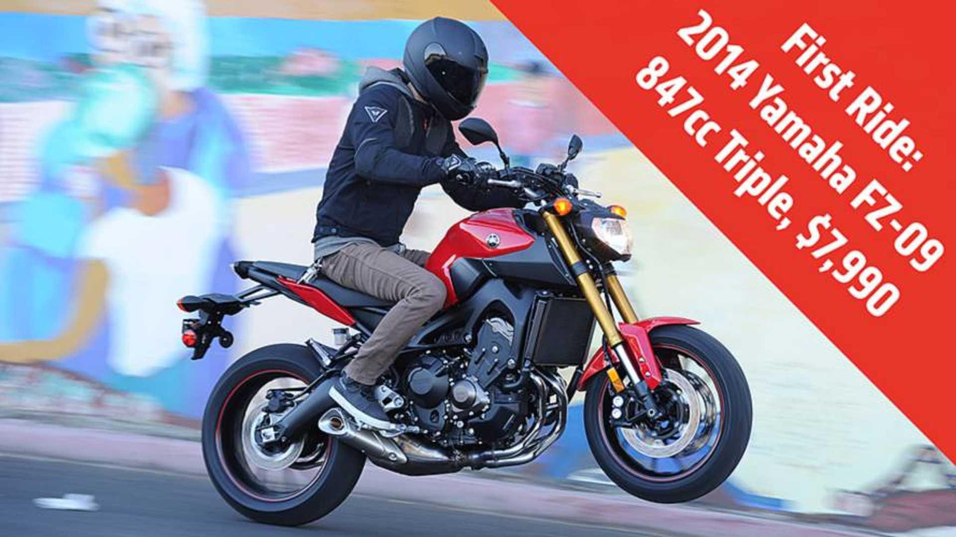 First Ride: 2014 Yamaha FZ-09 Review