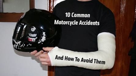 10 Common Motorcycle Crashes and How To Avoid Them