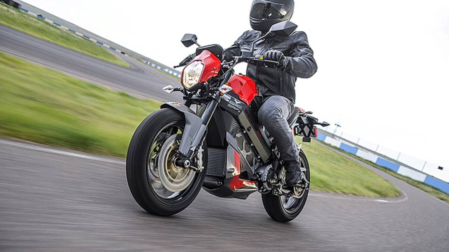 Victory Motorcycles Fully Electric Empulse TT Photo Gallery