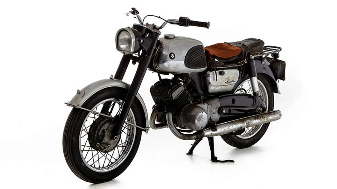 50 Years Later, A Look Back At Suzuki's First Bikes For America