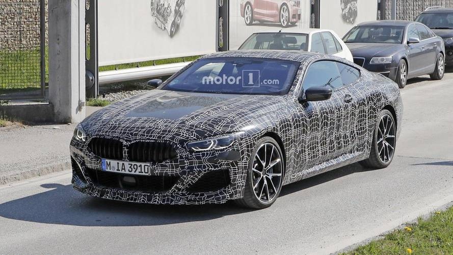 BMW 8 Series Coupe Spied With Slightly Less Camouflage