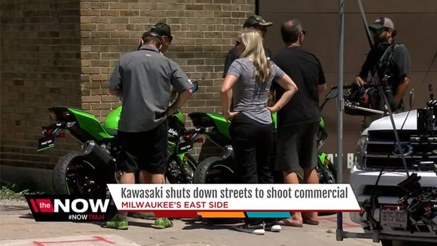 New Ninja 400 Spied on the Street in Milwaukee