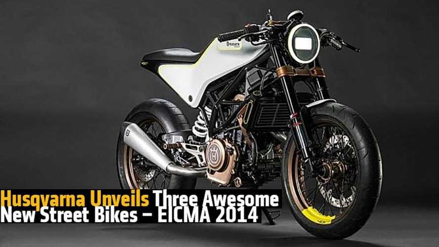 Husqvarna Unveils Three New Street Bikes – EICMA 2014